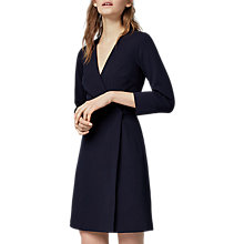 Buy Warehouse Crepe Wrap Dress Online at johnlewis.com