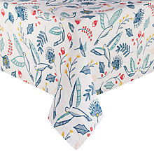 Buy John Lewis Folklore Wipe Clean Tablecloth Online at johnlewis.com