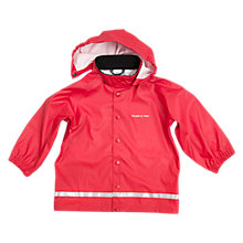 Buy Polarn O. Pyret Children's Raincoat, Red Online at johnlewis.com