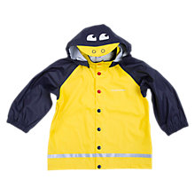 Buy Polarn O. Pyret Children's Duck Raincoat, Yellow Online at johnlewis.com