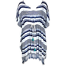 Buy Watercult New Nautical Kaftan, Blue/Multi Online at johnlewis.com