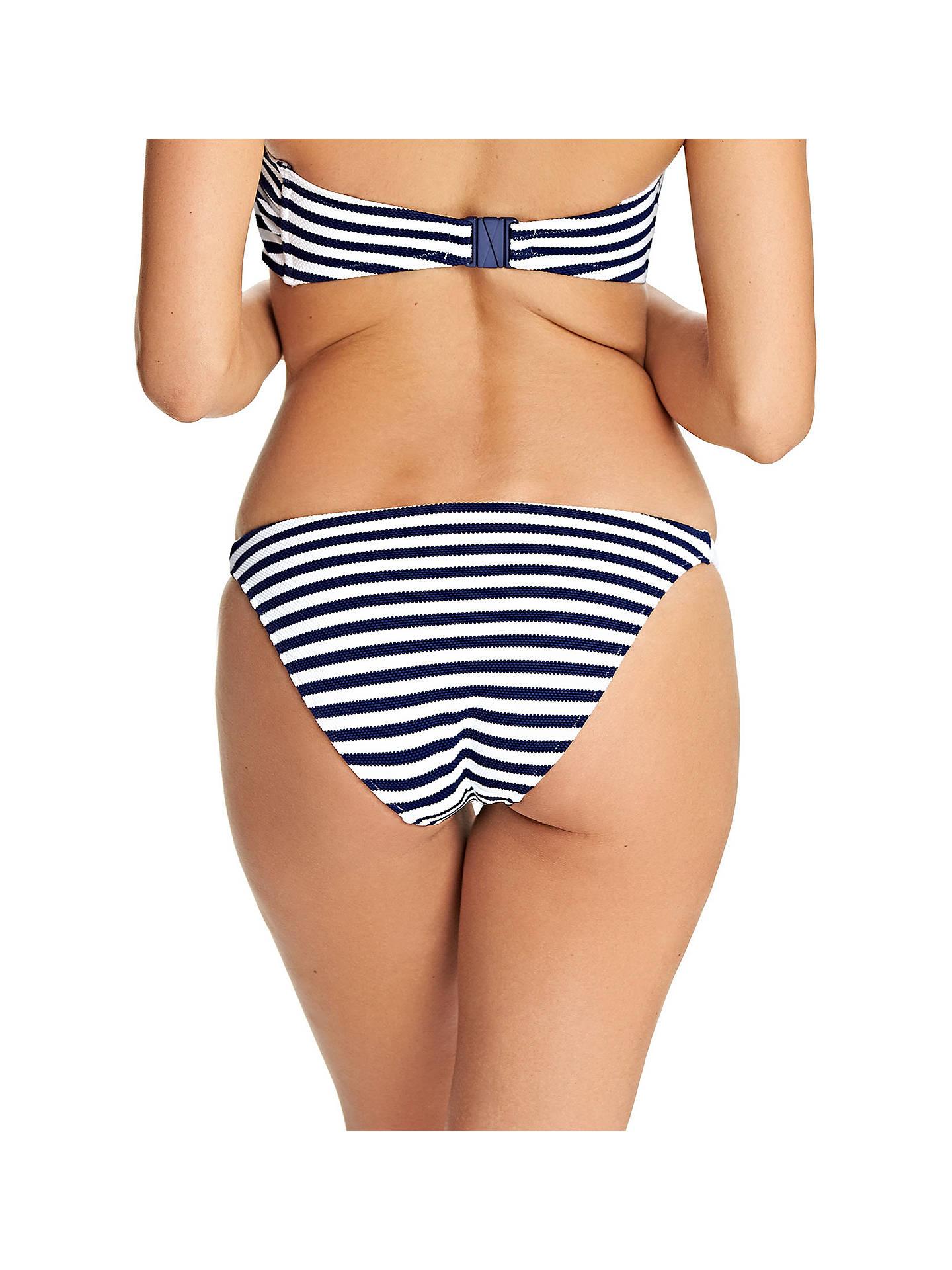 6b12b020b5 ... Buy Freya Drift Away Stripe Rio Bikini Briefs, Navy/White, L Online at  ...