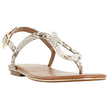 Buy Dune Lexy Toe Post Sandals Online at johnlewis.com