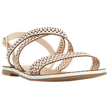 Buy Dune Lilo Cross Strap Cut Out Sandals Online at johnlewis.com