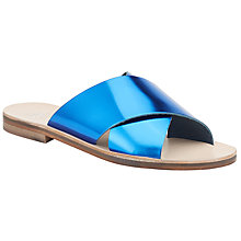 Buy Kin by John Lewis Nessa Criss Cross Slider Sandals Online at johnlewis.com