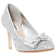 Buy Dune Bow Pointed Toe Court Shoes Online at johnlewis.com