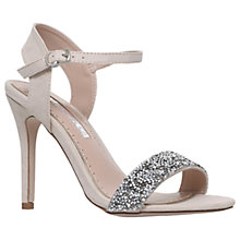 Buy Miss KG Cherry Stiletto Heeled Sandals, Nude Online at johnlewis.com