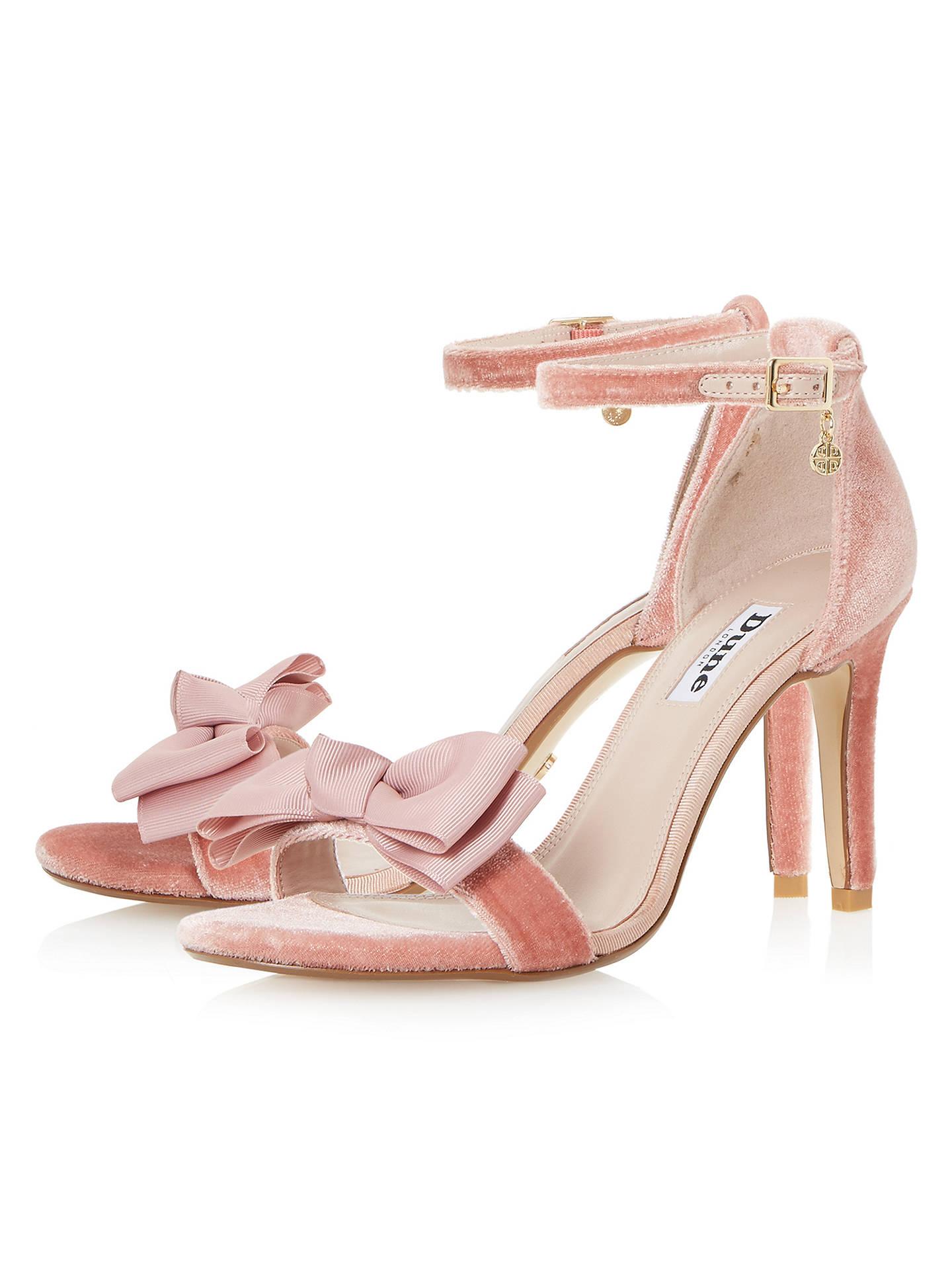 afdba047b46 Dune Moella Bow Stiletto Sandals at John Lewis   Partners