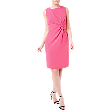 Buy Precis Petite Jeff Banks Twist Detail Tailored Dress, Pink Online at johnlewis.com