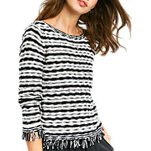 Buy hush Selena Frayed Jumper Online at johnlewis.com