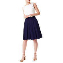 Buy Precis Petite Talia Skirt, Navy Online at johnlewis.com