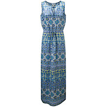 Buy Pure Collection Silk Print Maxi Dress, Multi/Mosaic Print Online at johnlewis.com