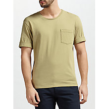 Buy Gant Rugger Nep T-Shirt, Pale Aloe Online at johnlewis.com