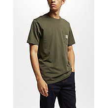 Buy Carhartt WIP Pocket T-Shirt, Cypress Online at johnlewis.com