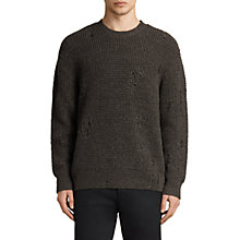 Buy AllSaints Vektarr Crew Neck Jumper Online at johnlewis.com
