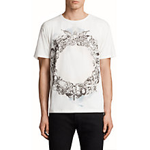 Buy AllSaints Dead Ringer Graphic Crew Neck T-Shirt Online at johnlewis.com