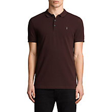 Buy AllSaints Houston Short Sleeve Polo Shirt Online at johnlewis.com