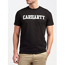 Buy Carhartt WIP College T-Shirt Online at johnlewis.com