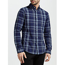 Buy Gant Check Long Sleeve Shirt Online at johnlewis.com