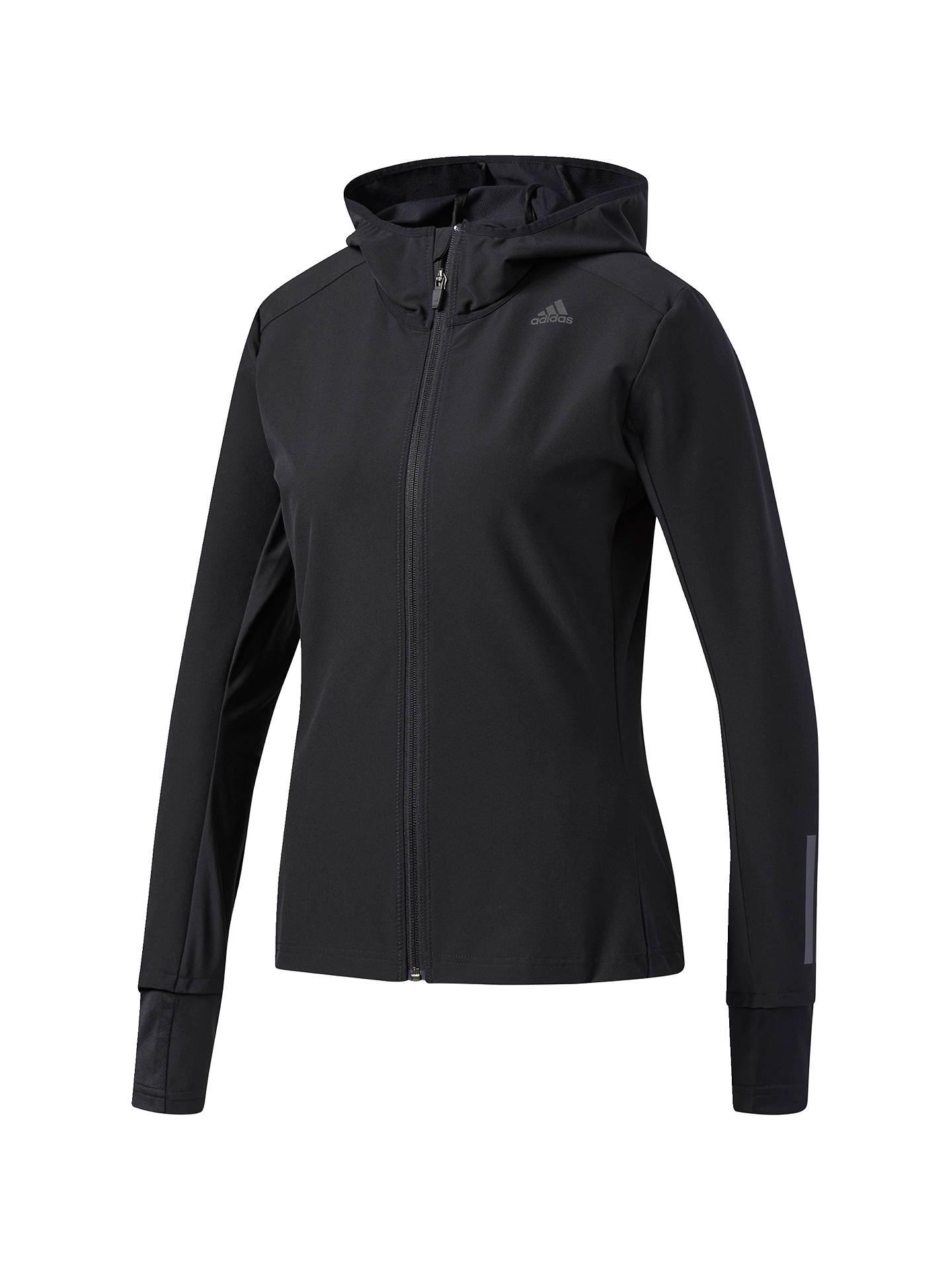 Sells virallinen käytettävissä adidas Response Soft Shell Running Jacket, Black at John ...