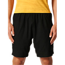 Buy Adidas Speedbreaker Climacool Aeroknit Shorts, Black Online at johnlewis.com