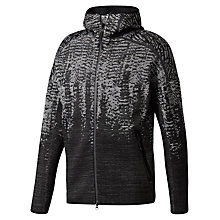 Buy adidas ZNE Pulse Men's Hoodie, Black Heartbeat Online at johnlewis.com