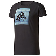 Buy Adidas Essentials Classic T-Shirt, Black Online at johnlewis.com
