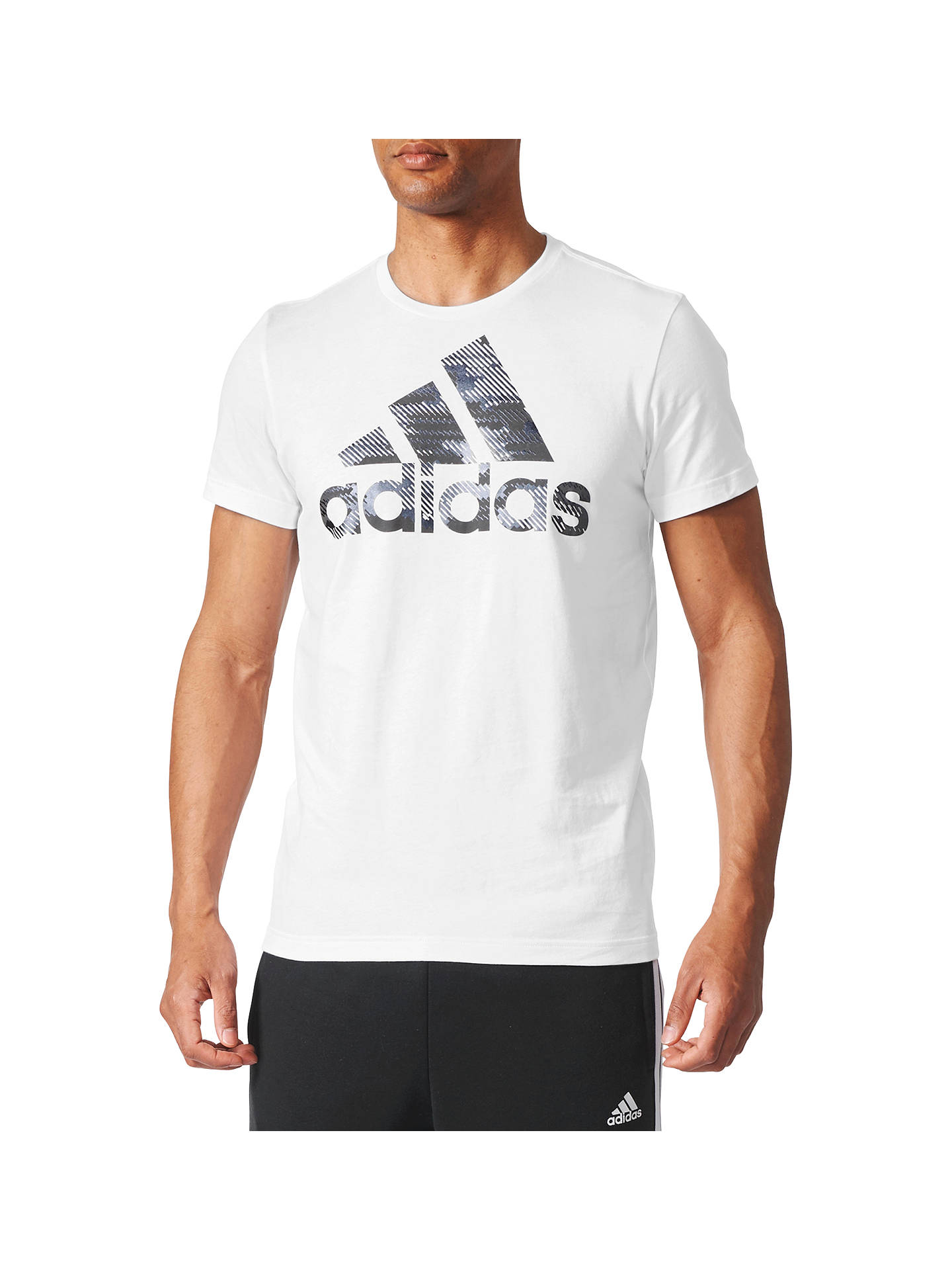 ad3bcb1c1254 Buy Adidas Essentials Badge of Sport Foil Logo T-Shirt