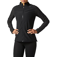 Buy adidas Supernova Storm Running Jacket, Black Online at johnlewis.com