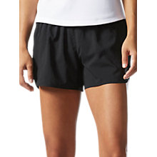 Buy Adidas Response Running Shorts, Black Online at johnlewis.com