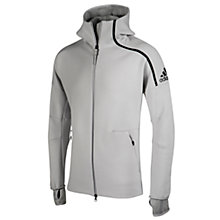 Buy Adidas ZNE Pulse Men's Hoodie, Grey Online at johnlewis.com