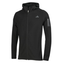 Buy Adidas Response Shell Men's Running Jacket, Black Online at johnlewis.com