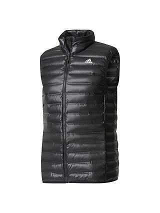 Buy adidas Varilite Down Vest Gilet, Black, S Online at johnlewis.com