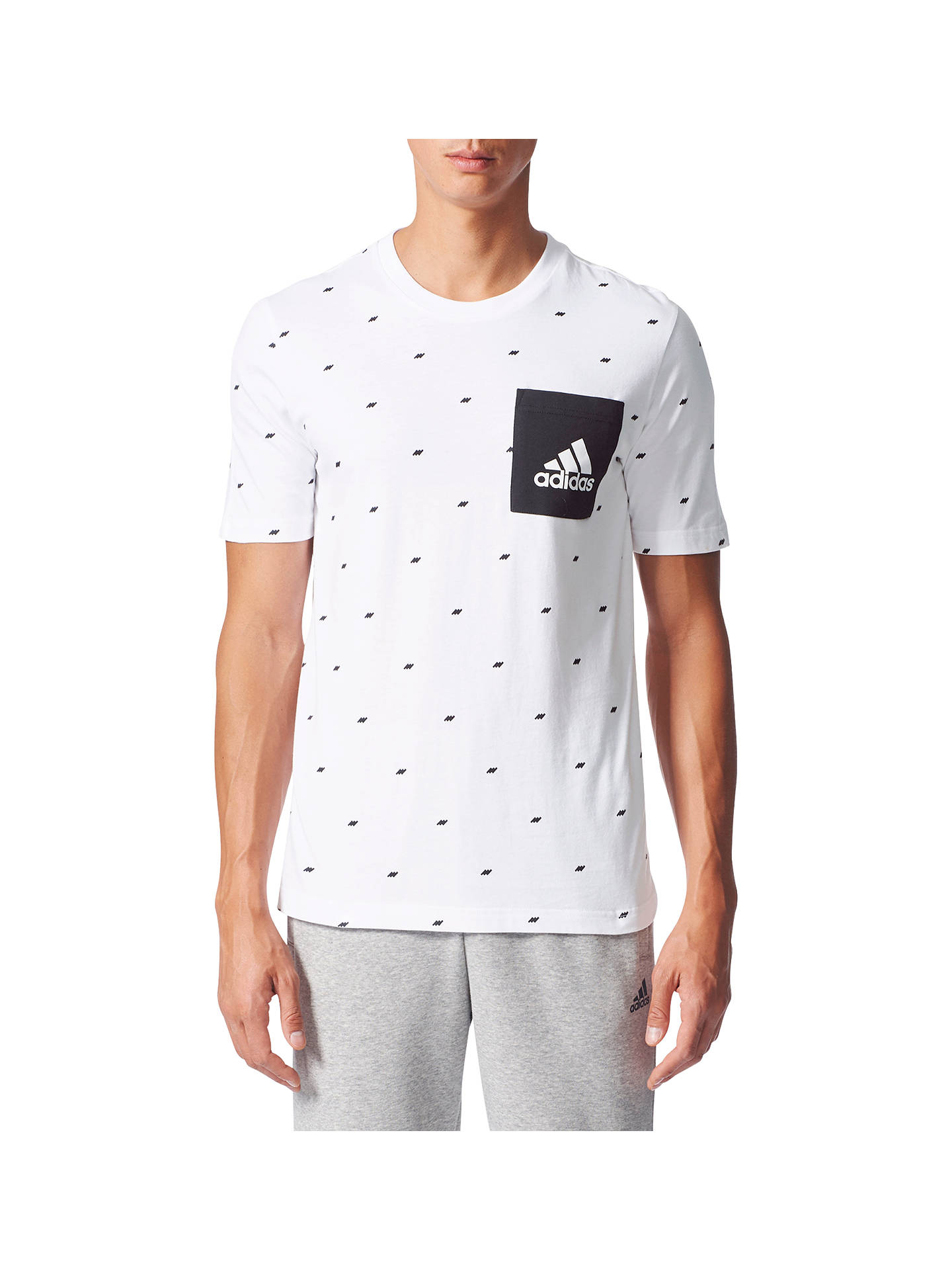 Buyadidas Essentials Graphic Pocket T-Shirt d495ffa01b2f