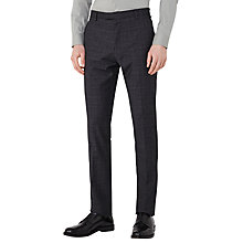 Buy Reiss Hank Check Slim Fit Suit Trousers, Navy Online at johnlewis.com