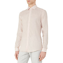 Buy Reiss Perdu Slim Linen Shirt Online at johnlewis.com