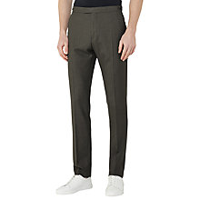Buy Reiss Kamara Wool Slim Fit Suit Trousers, Khaki Online at johnlewis.com