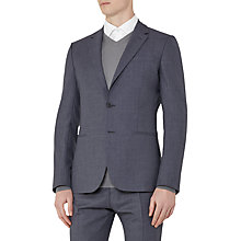 Buy Reiss Kamara Wool Slim Fit Suit Jacket, Airforce Blue Online at johnlewis.com