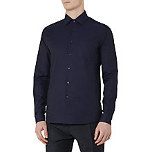 Buy Reiss Jack Slim Fit Shirt, Navy Online at johnlewis.com