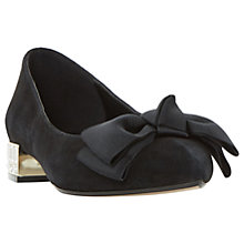 Buy Dune Bow Bela Ballet Pumps Online at johnlewis.com