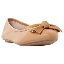 Buy Dune Wide Fit Hypnotise Bow Ballet Pumps Online at johnlewis.com
