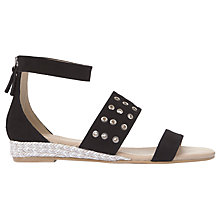 Buy Mint Velvet Nelly Eyelet Strap Sandals Online at johnlewis.com
