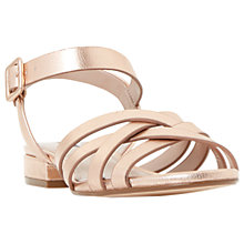 Buy Dune Insley Cross Strap Sandals Online at johnlewis.com