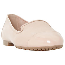 Buy Dune Wide Fit Genevieve Leather Ballet Pumps Online at johnlewis.com