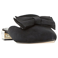 Buy Dune Doe Bow Mule Loafers Online at johnlewis.com