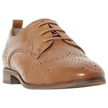 Buy Dune Wide Fit Foster Lace Up Leather Brogues Online at johnlewis.com