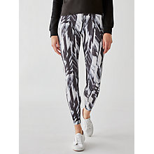 Buy ONLY PLAY Toya Training Tights, Black/White Online at johnlewis.com