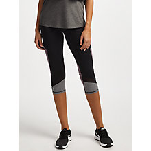 Buy ONLY PLAY Malica Training Tights, Black/Moonscape Online at johnlewis.com