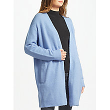 Buy Samsoe & Samsoe Nor Cardigan, Grape Mist Online at johnlewis.com
