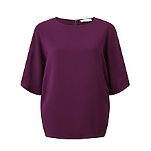 Buy Samsoe & Samsoe Mine Top, Potent Purple Online at johnlewis.com
